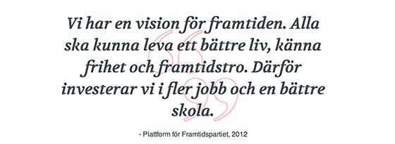 Socialdemokraternas vision
