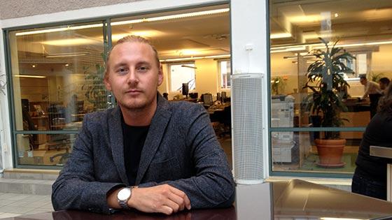 Lukas Löfgren blev befordrad efter att ha gått Conversion Manager-utbildningen.