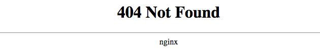 Exempel: Reseguiden och Matklubbens 404-sidor