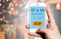Mobil E-handel i jul