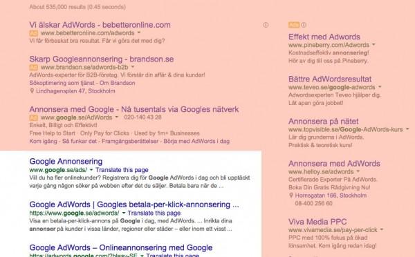 Googlesöket