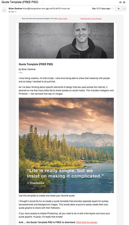 Brian Gardner email