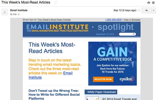 Email institute