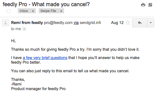 freedly pro email