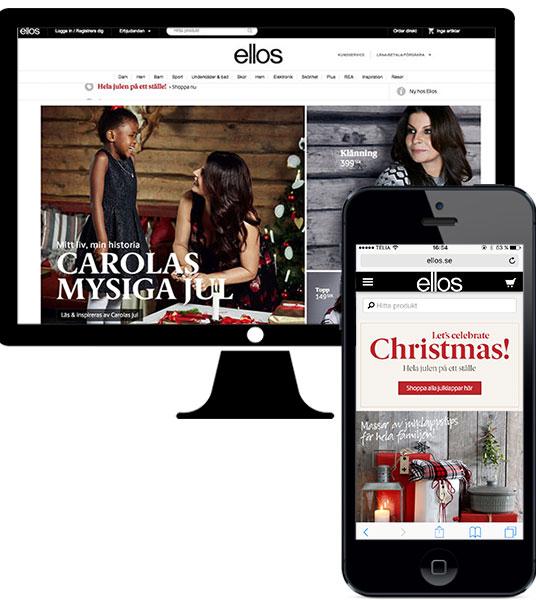Julskyltning E-handel