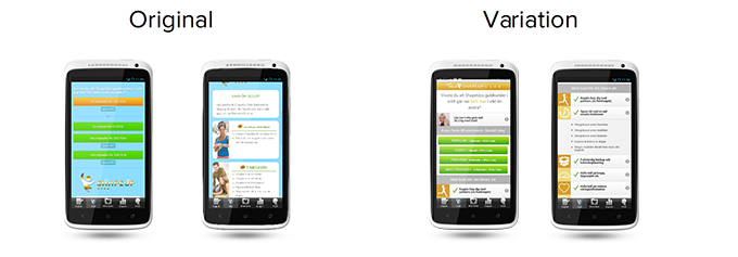 A/B-test Lifesum