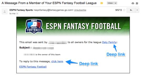 Notismail exempel ESPN