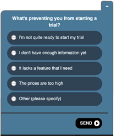 Spotify Fråga vid Registrering