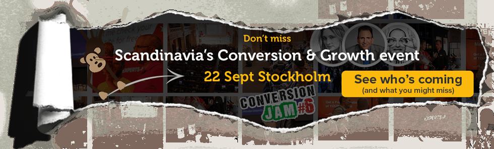 Conversion Jam 22 Sept