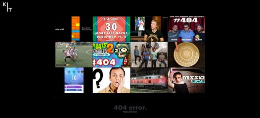 KIT 404 youtube