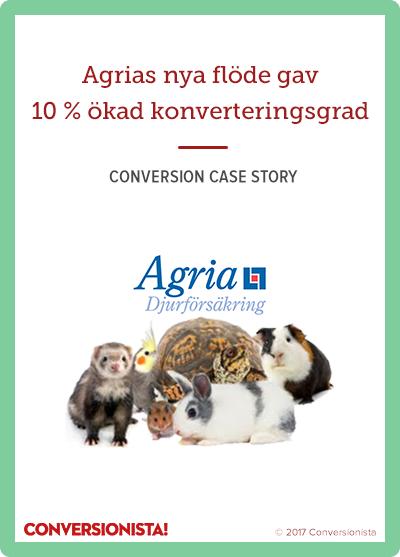 Agria Djurförsäkring - 10% ökad CR