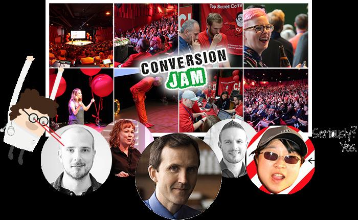 Conversion Jam 2017 speakers