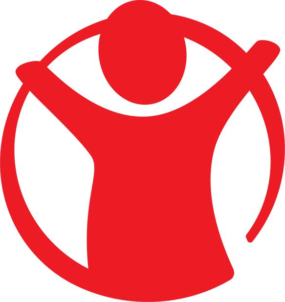 rädda barnen logga utan text