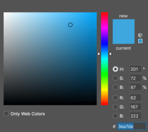 HSB-palett