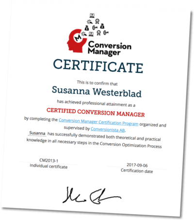 Official Certification you can get from this course