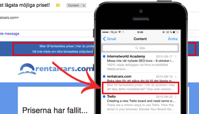 How to boost your newsletter with custom preheaders