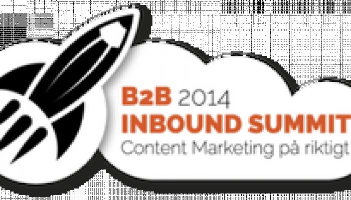 Lär dig mer om Content Marketing på B2B Inbound Summit 13/5