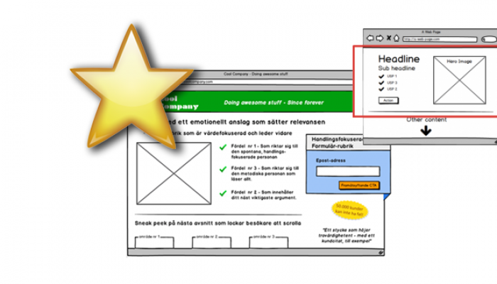 Improve your most visited landing pages with Conversionista's simple tool