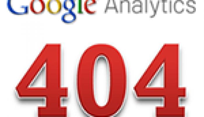 Spåra 404-sidor i Google Analytics