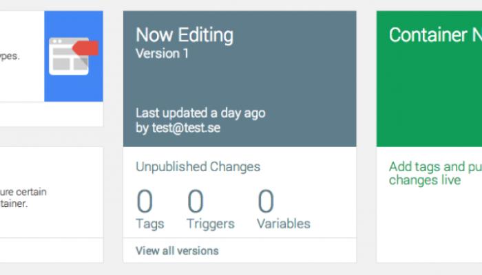 Google Tag Manager – 3 splitternya uppdateringar som förenklar ditt arbete