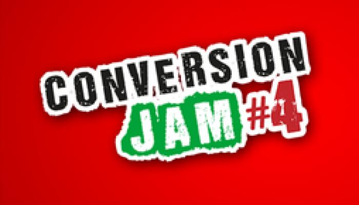 Conversion Jam #4 – biljetter kan köpas NU!