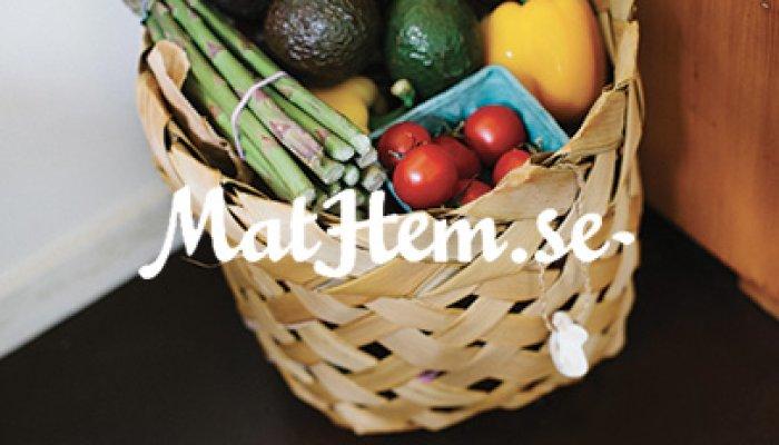Mathem - 25% fler sålda matkassar