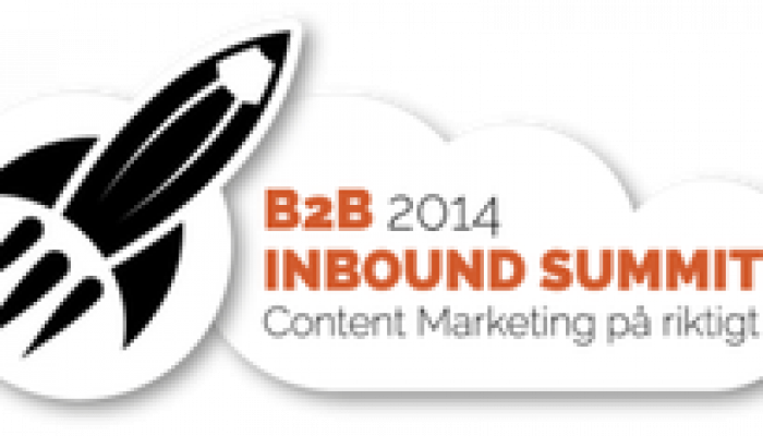 Lär dig mer om Content Marketing på B2B Inbound Summit 13/5