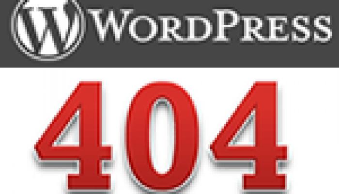 Anpassad 404-sida i WordPress