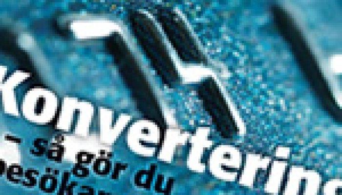 Konvertering – Ny specialrapport från InternetWorld
